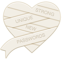 Use strong, unique passwords and carry on