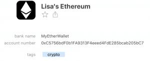 1password bitcoin
