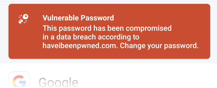 Watchtower warning that password for Evernote account has compromised in a data breach